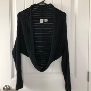 Armani exchange sweater shawl size XS/S